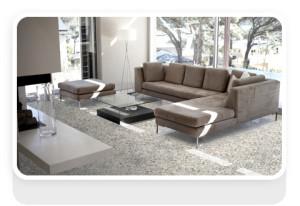 Composiet vloertegel granietlook