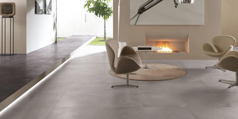 Betonlook tegel grijs 80x80 - BFC016