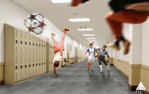 Schoolstone antislip