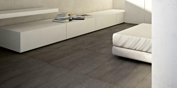 Natuursteen look Warm marmer donker grijs BFC044 22,5x90