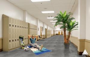 Schoolstone Vloerverwarming