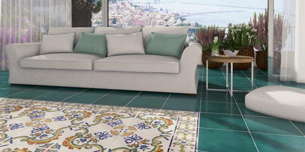 Vloertegel & Patoon Aqua Mediterraans Design 60x60cm